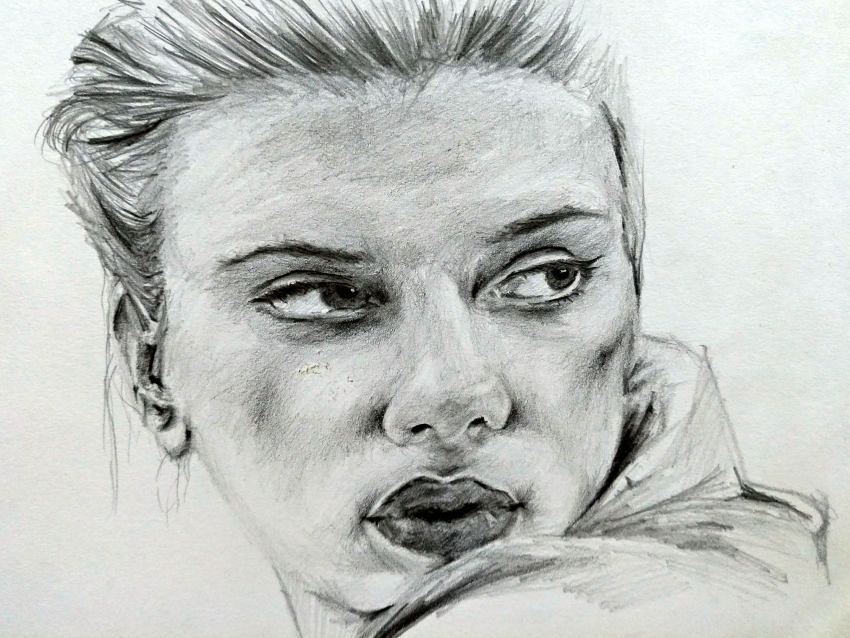 Scarlett Johansson by linshyhchyang